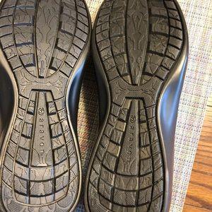 Aravon Shoes - Black Shoes Sz. 8aa Woman's